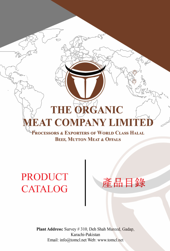 The Organic Meat Company Ltd. - Product Catalog