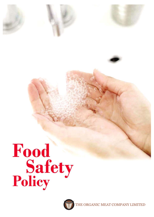 Food Safety Policy